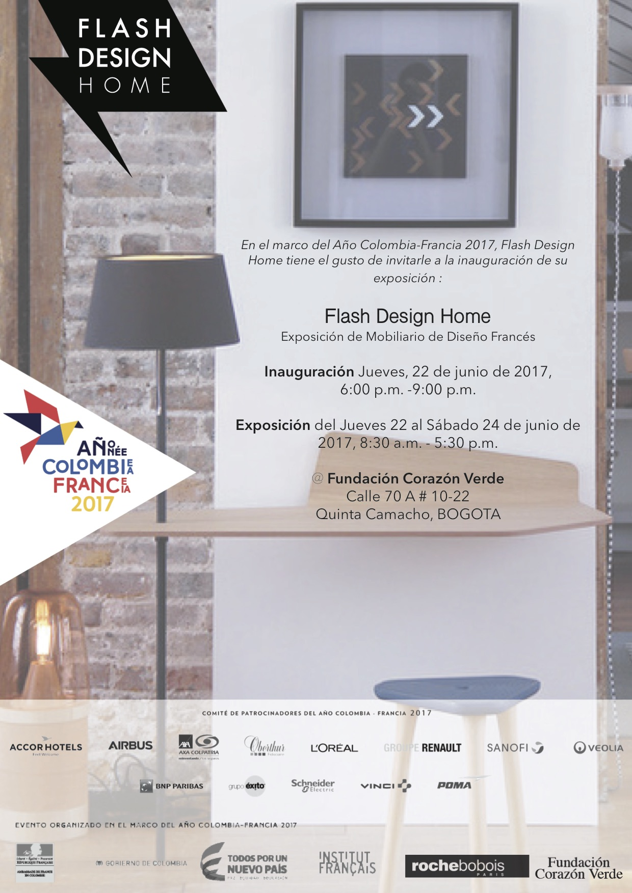 Flash Design Home - Invitation